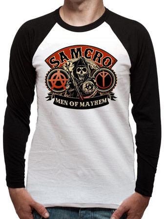Sons Of Anarchy (Samcro) Baseball Shirt Preview