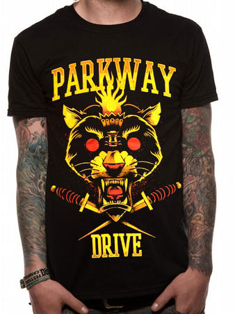 Parkway Drive (Panther) T-shirt Preview