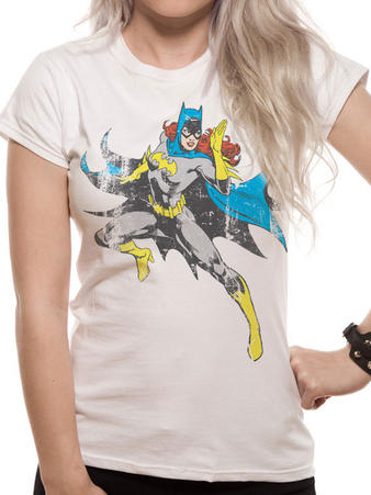 Batman (Batgirl Distressed) T-shirt Preview