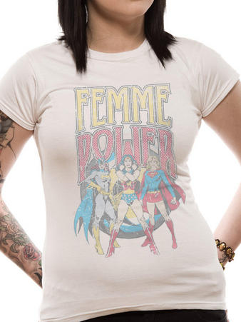 DC Originals (Femme Power) T-shirt Preview