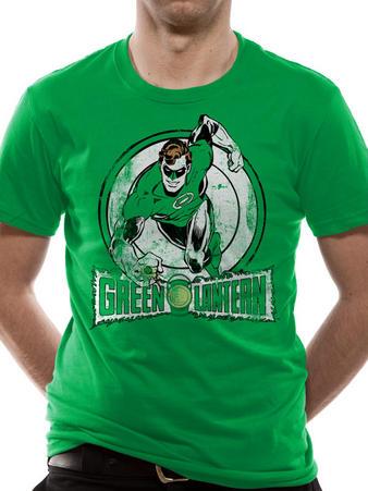 Green Lantern (Distressed Run) T-shirt Preview