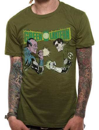 Green Lantern (Sinestro Battle) T-shirt Preview