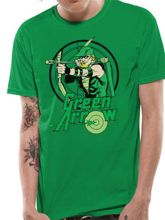 Green Arrow (Circle) T-shirt Preview