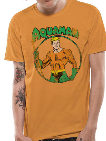 Aquaman (Distressed) T-shirt Preview