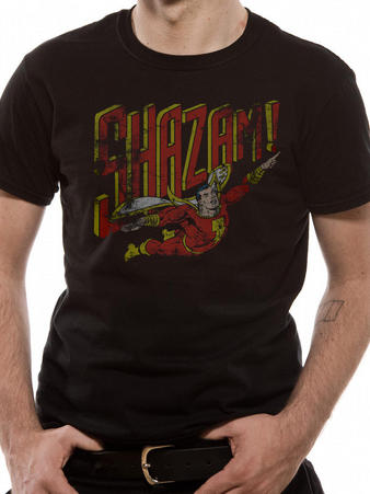 Shazam (Distressed) T-shirt Preview