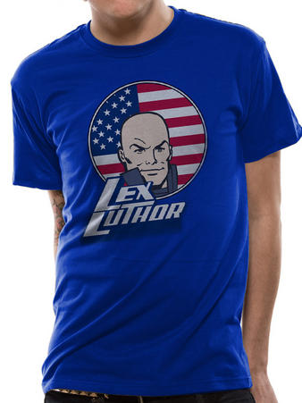 Lex Luthor (Flag) T-shirt Preview