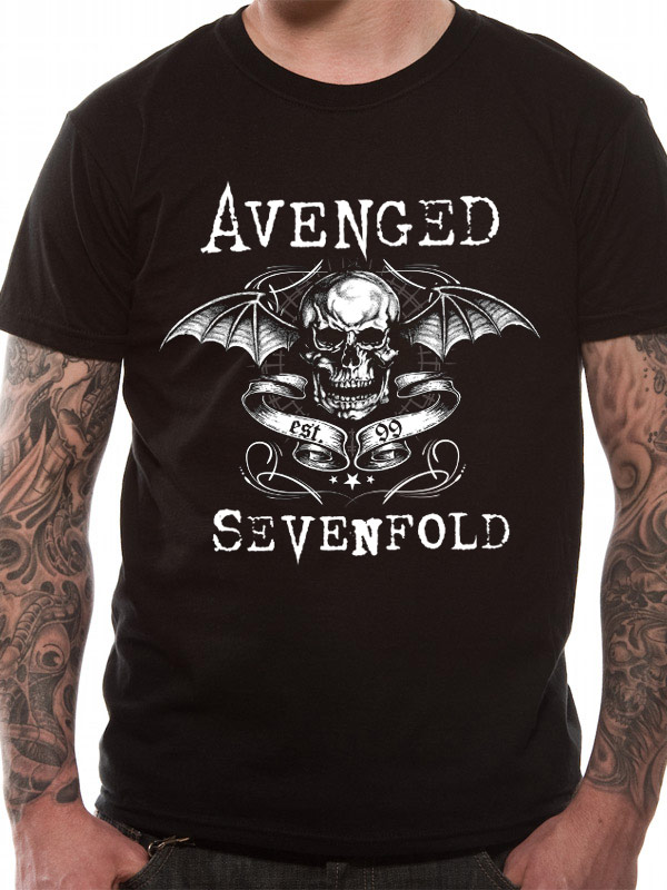 Official-Avenged-Sevenfold-DB-Banner-T-Shirt-All-sizes