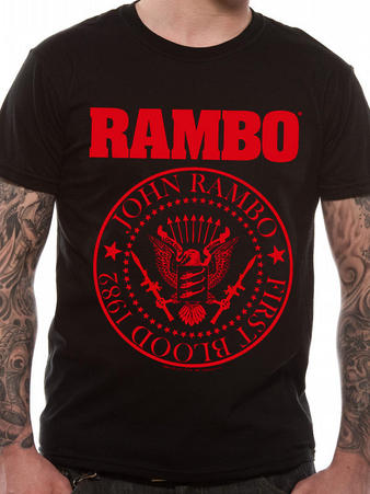 Rambo (Crest) T-shirt Preview