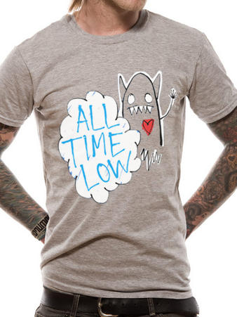 All Time Low (Monster) T-shirt Preview
