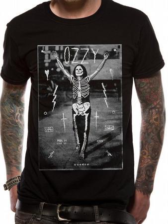 Ozzy Osbourne (Ozzy Skeleton) T-shirt Preview