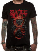Suicide Silence (Can't Stop Lyrics) T-shirt
