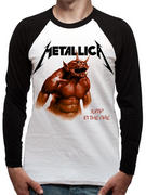 Metallica (Jump In The Fire) Baseball Shirt