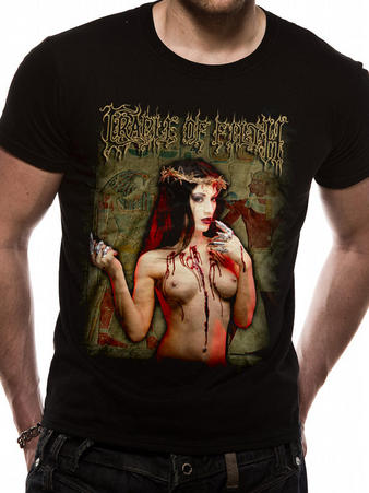 Cradle Of Filth (Praise) T-shirt Preview
