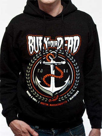 Bury Your Dead (Anchor) Hoodie Preview