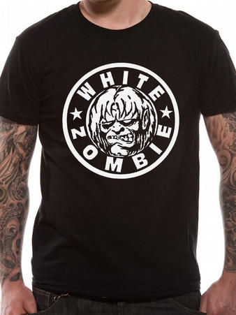 White Zombie (Classic Logo) T-shirt Preview
