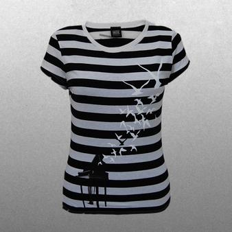 Muse (Striped Piano Ladies) T-shirt