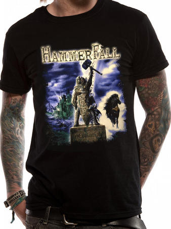Hammerfall ( (r) Evolution) T-shirt Preview