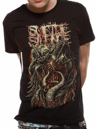 Suicide Silence (Blasted) T-shirt Preview