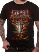 Lynyrd Skynyrd (Flaming Skull) T-shirt