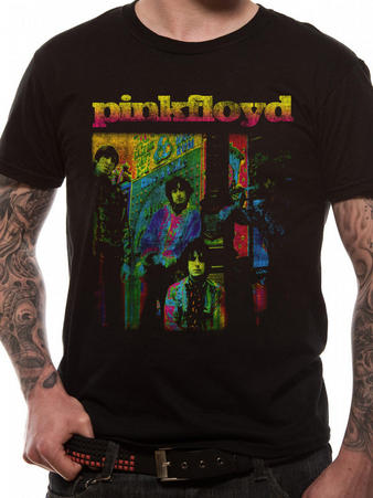 Pink Floyd (Neon Photo) T-shirt Preview