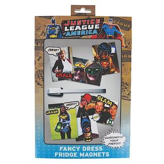 Justice League (Fancy Dress) Fridge Magnets Preview
