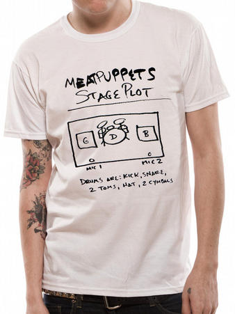 Meat Puppets (Stage Plot) T-shirt Preview