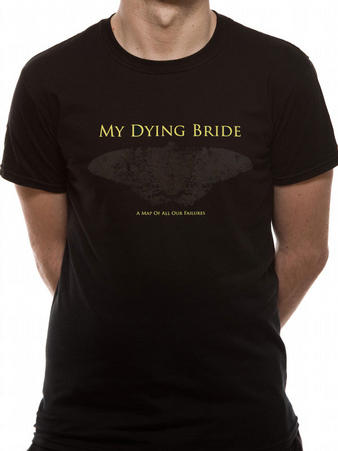My Dying Bride (There Are Wolves Here) T-Shirt Preview