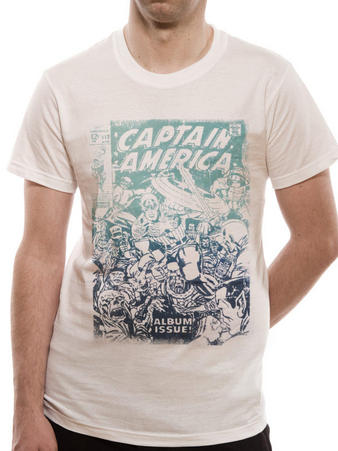 Captain America (Classic Cover) T-shirt Preview