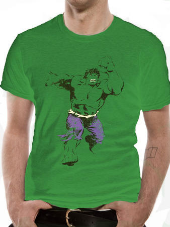 Incredible Hulk (Leaping) T-shirt Preview