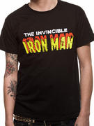 Iron Man (Invincible Text) T-shirt