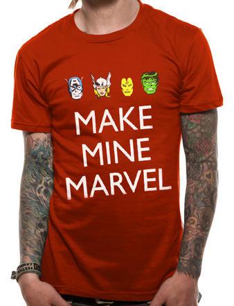 Marvel (Make Mine Marvel) T-shirt Preview