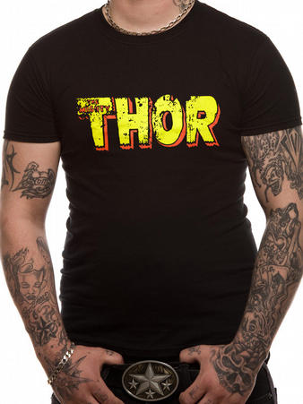 Thor (Text) T-shirt Preview