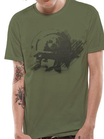 Judge Dredd (Military) T-shirt Preview