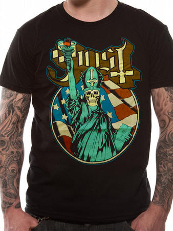 Ghost (Statue Of Liberty) T-shirt Preview