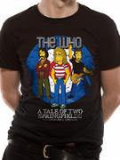 The Simpsons (The Who Bullseye) T-shirt