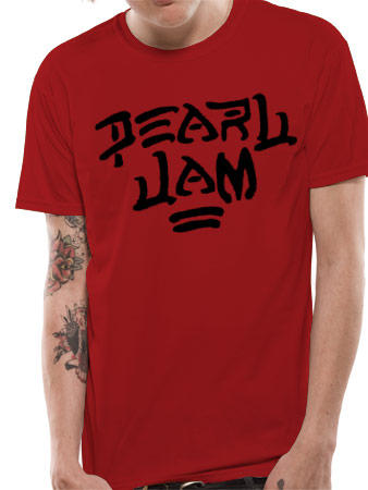Pearl Jam (Logo) T-shirt Preview