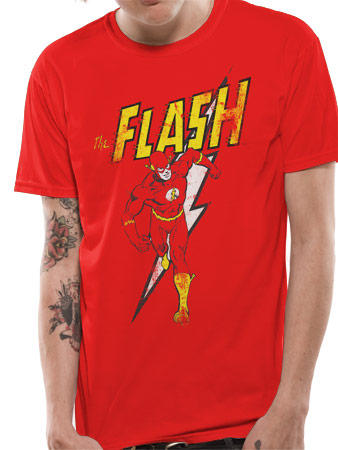 The Flash (Vintage) T-shirt Preview