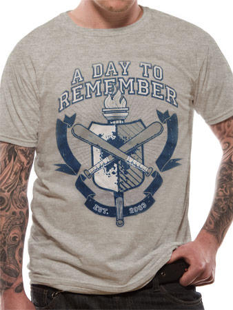 A Day To Remember (University) T-shirt Preview