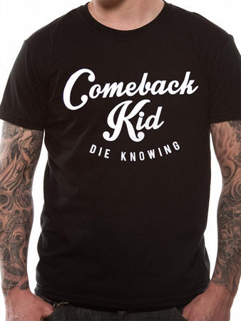 Comeback Kid (Script) T-shirt Preview