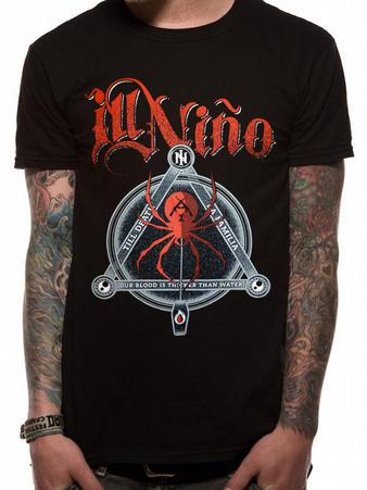 Ill Nino (Black Widow) T-shirt Preview
