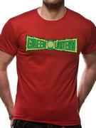 Green Lantern (Logo All The Heroes) T-shirt