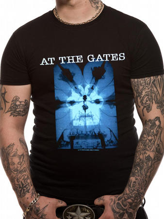 At The Gates (Burning Darkness) T-Shirt Preview
