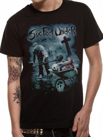 Six Feet Under (Dead Meat) T-Shirt Preview
