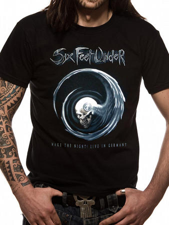 Six Feet Under (Wake The Night) T-Shirt Preview