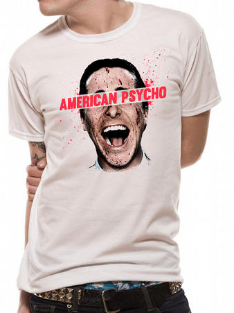 American Psycho (Face) T-shirt Preview