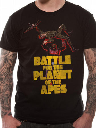 Battle For The Planet Of The Apes (Battle) T-shirt Preview