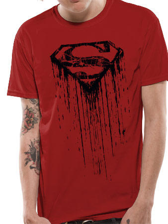 Superman (Dripping) T-shirt Preview
