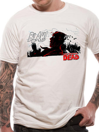 The Walking Dead (Blam) T-shirt Preview