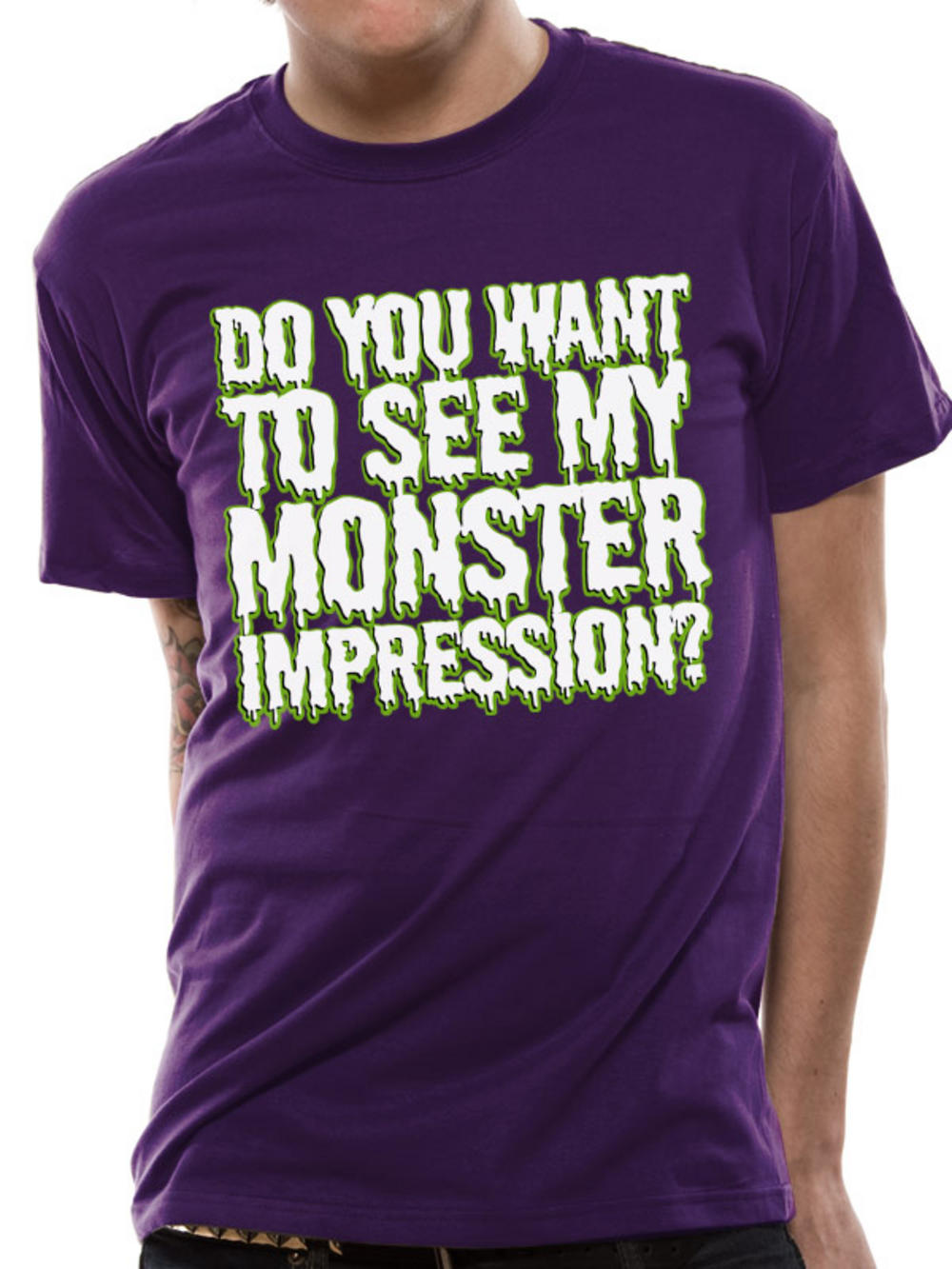 monster impression t shirt buy monster impression t shirt at uk monster store. Black Bedroom Furniture Sets. Home Design Ideas