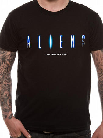 Aliens (This Time Its War) T-shirt Preview